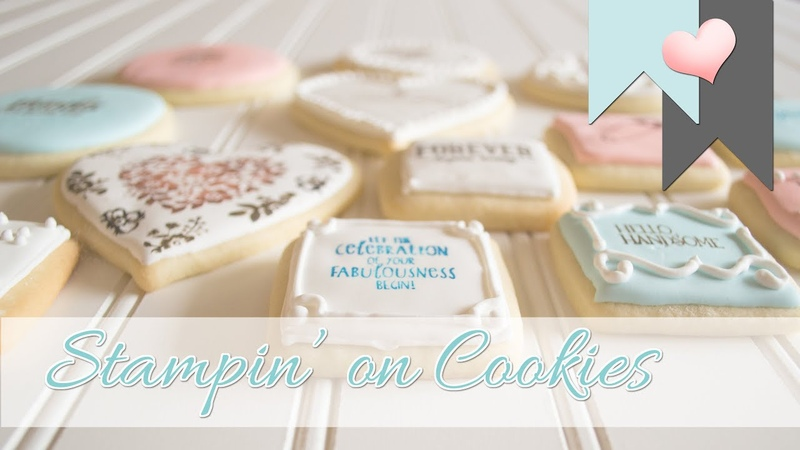 Stampin' on Cookies   Using Stampin' Up! Products