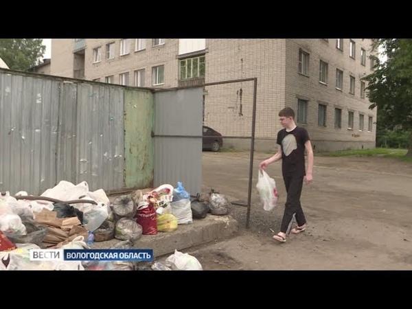 Вологда рискует утонуть в мусоре