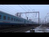 Электровоз ЧС6- с поездом Аврора 150 км-ч (старый ролик) уже не ходит