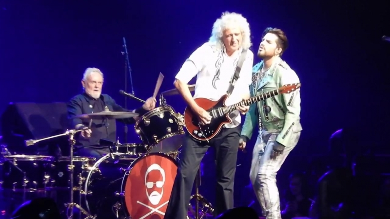Queen and Adam Lambert Heartbreak Hotel Vegas 19 9 2018