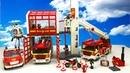 Massive Collection Playmobil Fire Rescue Toys - Fire Engines, Fire Trucks, Fire Station