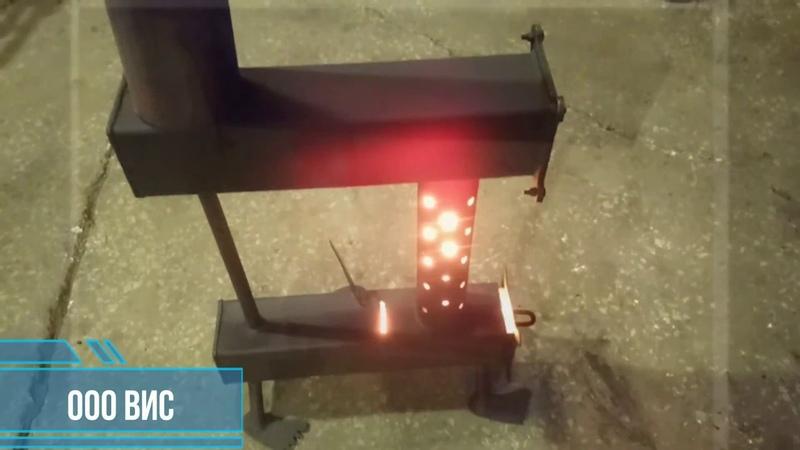 Печь на отработке жучка Купить печь на отработанном масле Печь для гаража Буржуйка на отработке