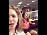 Lena Paul на съемках порно в офисе