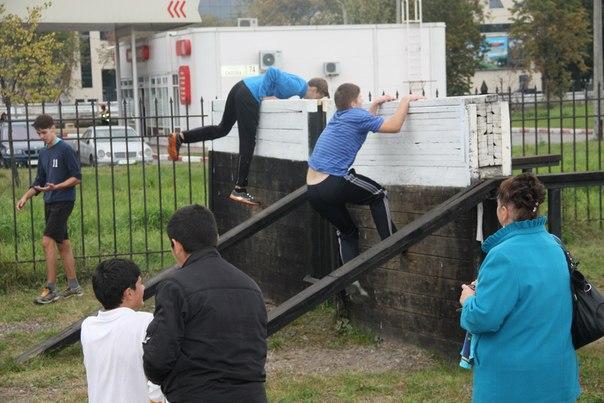«Спартакиада допризывной молодежи Фрунзенского района Санкт–Петербурга»