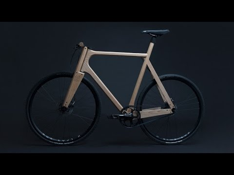 Handcrafted Wooden Bike by Paul Timmer