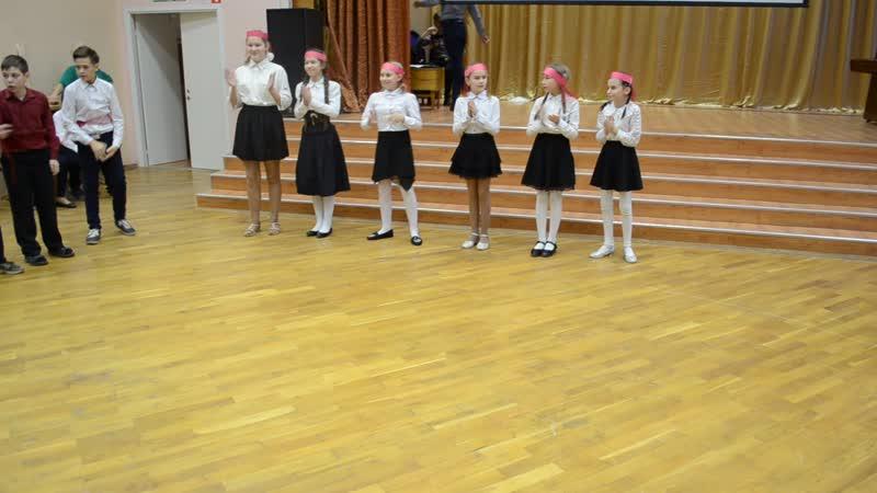 Армянский танец на фестивале КУЛЬТУРЫ НАРОДОВ РОССИИ ( 5в класс, лицей №1 г.Всеволожска )