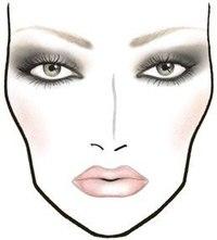 Это базовые схемы.  В зависимости от формы глаза, посадки и т.п. Можно варьировать интенсивность цвета, вытягивать...