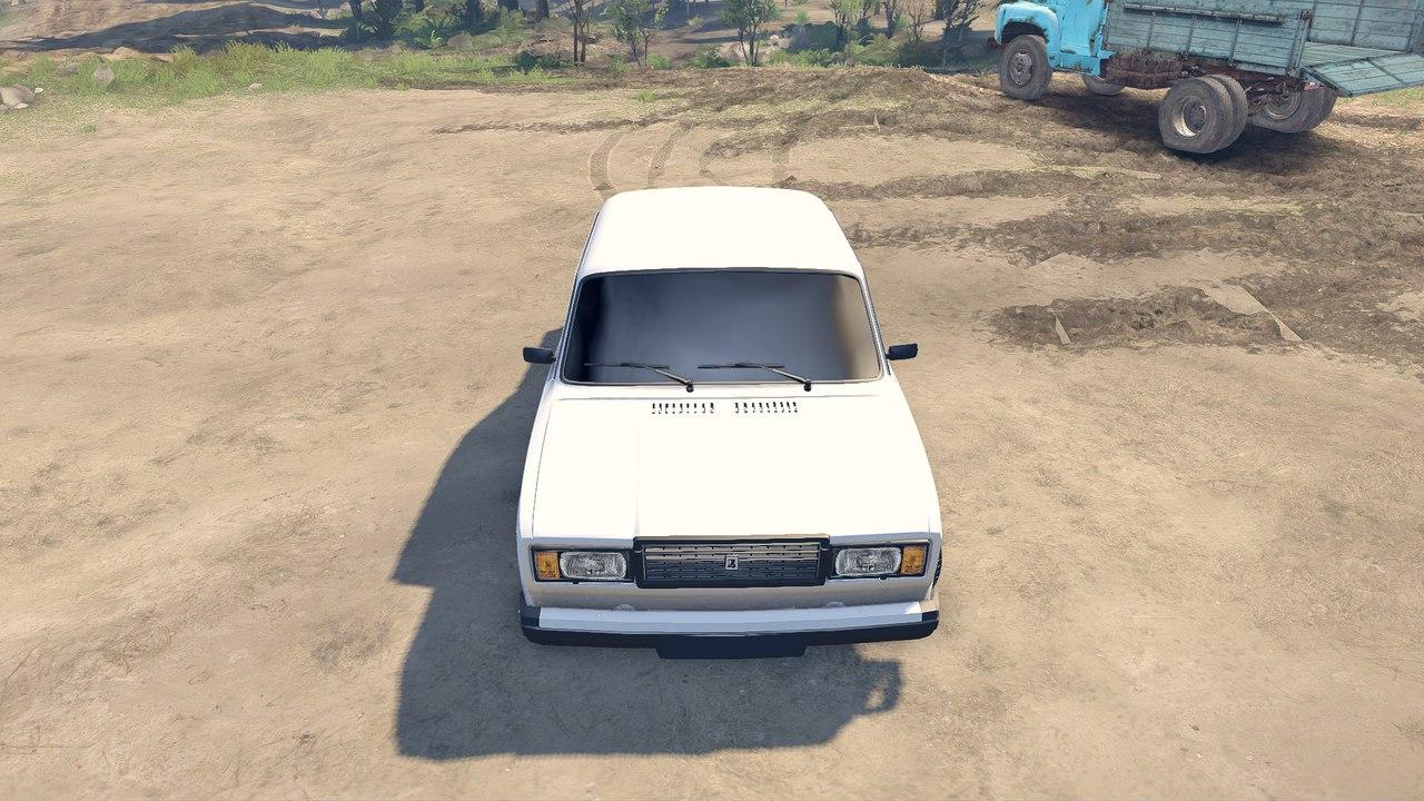 Vaz 2107 для Spintires - Скриншот 1