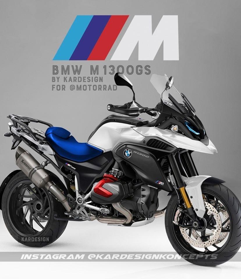 Предположительный дизайн мотоцикла BMW M Performance