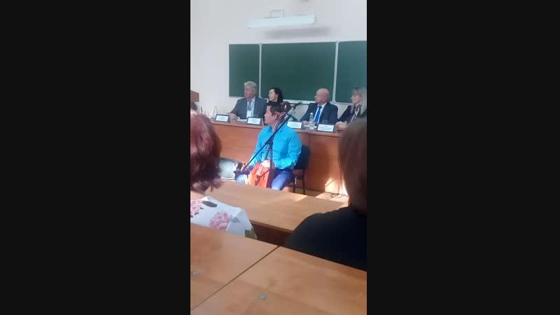 Международный симпозиум (Монгольская песня) БГИИК (г. Белгород) 08.11.2018