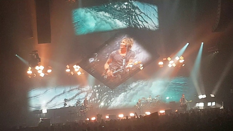 Keith Urban Long Hot Summer Live In Moncton NB Sept 12th 2018
