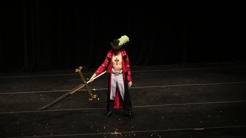 2.7. ОДИНОЧНОЕ ДЕФИЛЕ № 17 One Piece (Dracule Mihawk) - Alex.Shtein, Москва