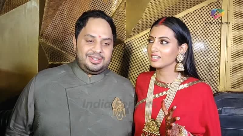 Additi Gupta And Kabir Chopra Have A Star Studded Reception Bash ¦ Exclusive