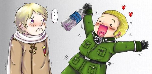 Тот момент, когда Германия неудачно подражает России...