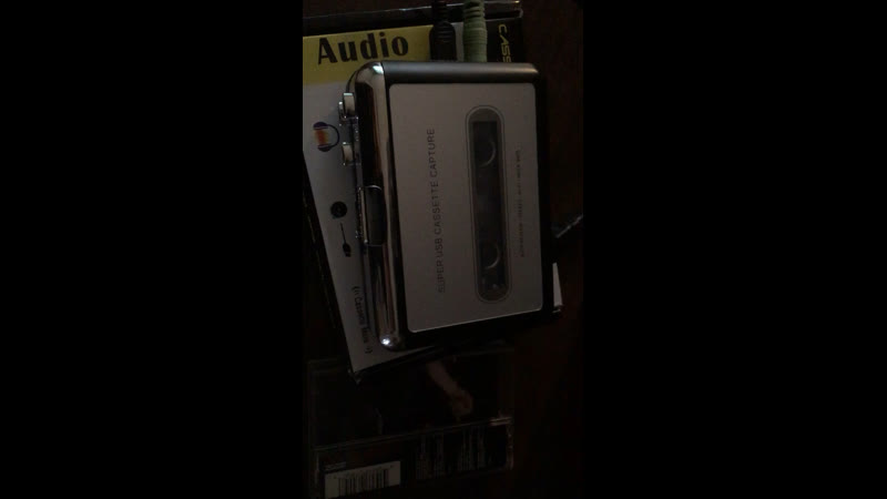 Coma black on cassette