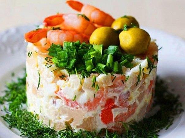 Фото эксклюзивных салатов