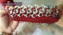 Bolso Tejido a Crochet Con Fichas/La Luna Del Crochet