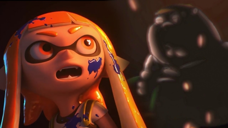 Whats Inkling Girl Looking at؟