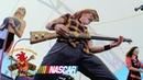 Playing Shotgun Guitar Live at NASCAR