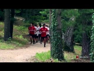 - E un Milan che va di corsa e naturalmente a tirare la volata cè mister Gattuso... Corri