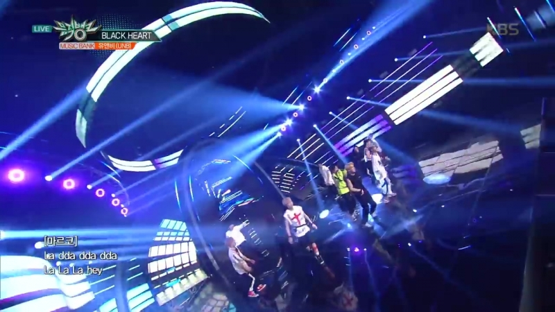 [PERF: 180713] UNB - BLACK HEART @ KBS Music Bank (FEELDOG)