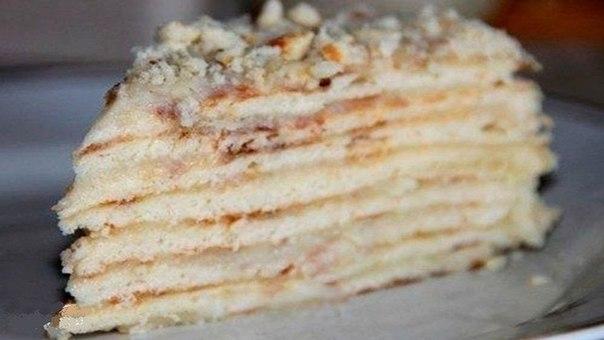 Торт минутка без выпечки с фото
