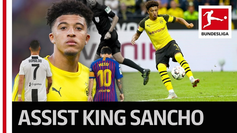 Jadon Sancho - Europe's Assist King - Better Than Messi, Ronaldo Co.