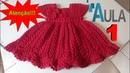 Vestido de Crochê Com Simone Lemos AULA 1