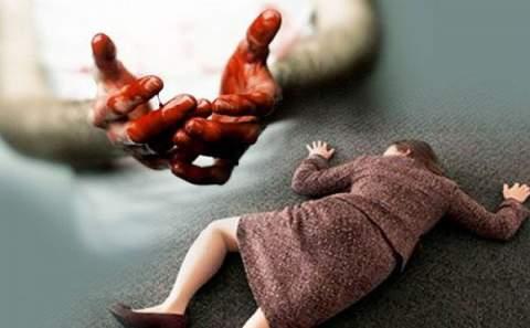 зверски избил свою жену до смерти