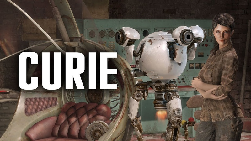The Full Story of Curie Fallout 4 Lore