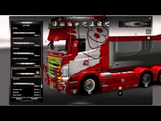 Euro Truck Simulator 2 Scania Multy Mod