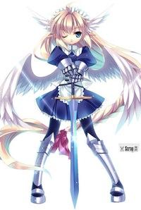 ангелы и демоны аниме картинки