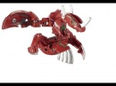 Bakugan Mechtanium Surge ARC 2:Pyrus Fusion Dragonoid.