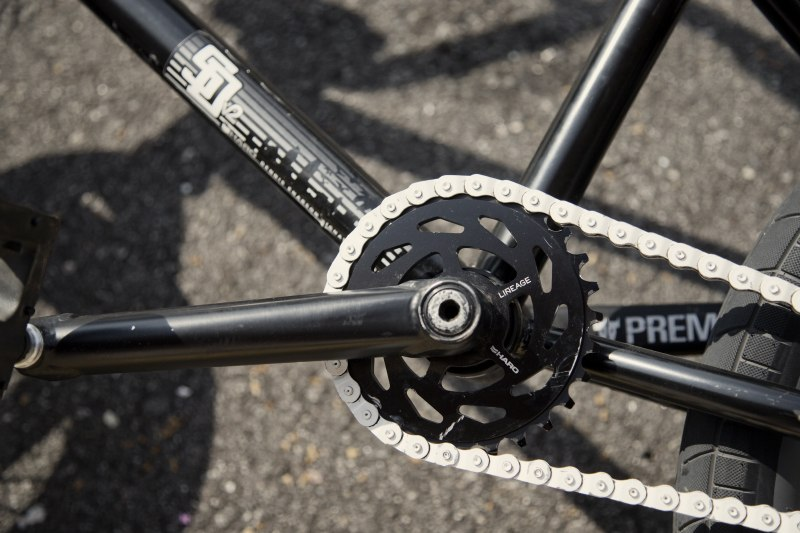 JASON WATTS Bikecheck cranks