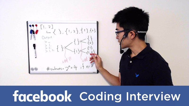 Facebook Coding Interview Question and Answer 1: All Subsets of a Set