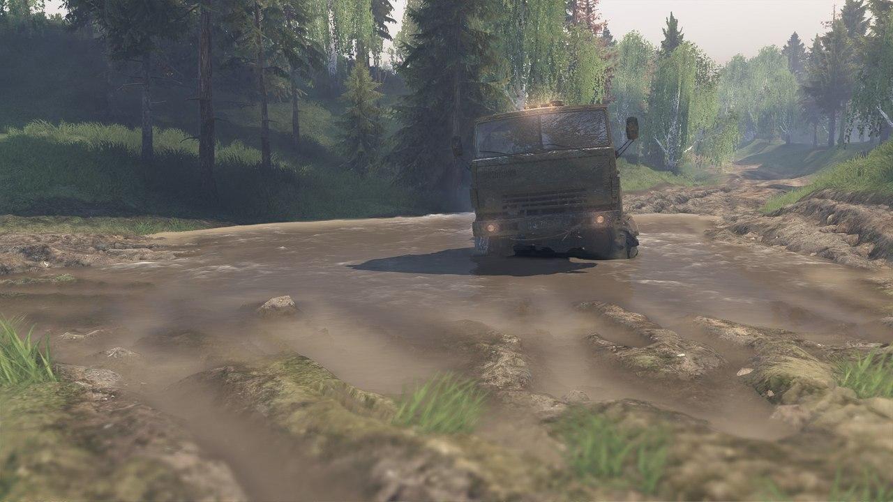 """Карта """"Усть-Кут"""" для 23.10.15 и 8.11.15 для Spintires - Скриншот 3"""