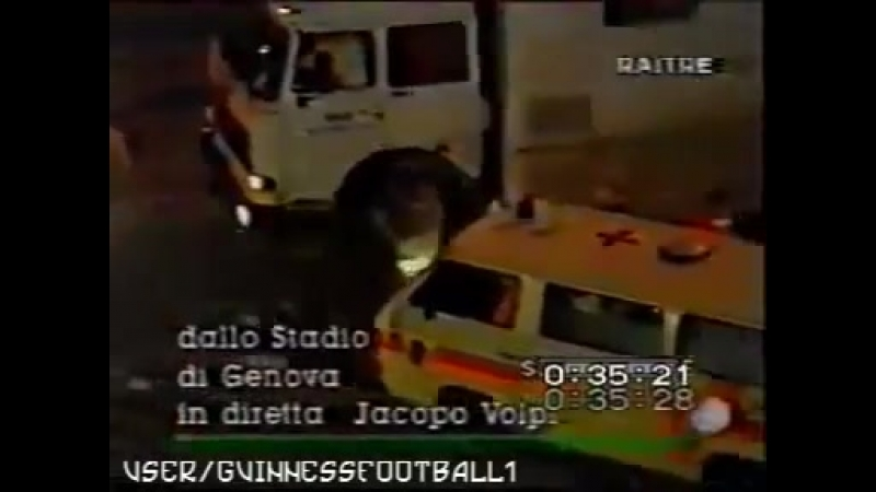 Сезон насилия: 1994⁄1995 Ультрас матчей Бреншия - Рома и Дженоа - Милан [Scontri Ultras׃ Brescia-Roma e Genoa-Milan]