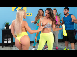 [brazzers] abella danger, katana kombat working out their anger newporn2020