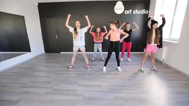 [v-s.mobi]OPEN KIDS - Show Girls! официальный видео-урок по хореографии из клипа - Open Art Studio
