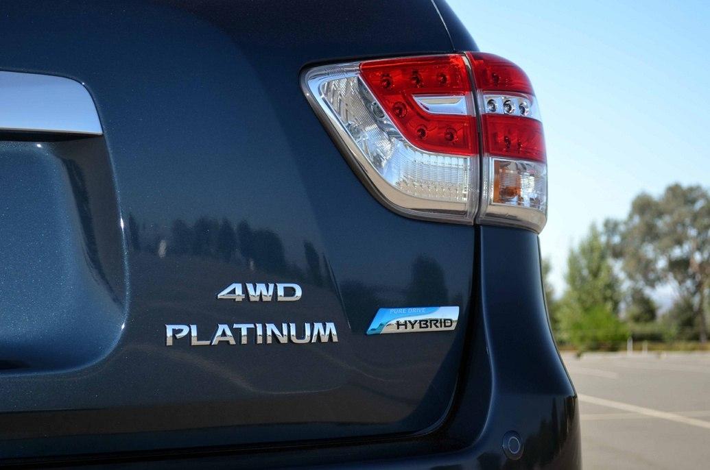 Nissan Pathfinder 2014 Hybrid 4WD platinum