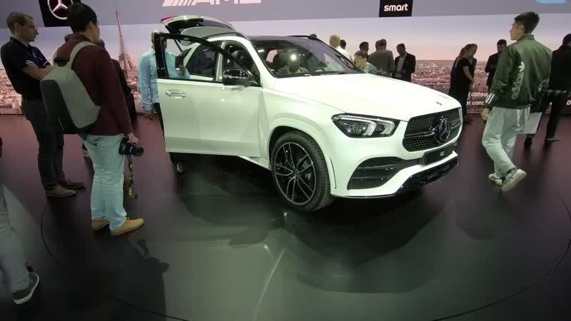 Новейший Mercedes-Benz GLE ОН УМЕЕТ ПРЫГАТЬ!