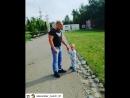 Гуляем с Миленой Александровной в парке
