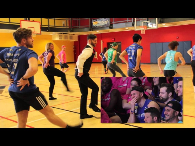 Mike and Angelo's Flash Mob Proposal