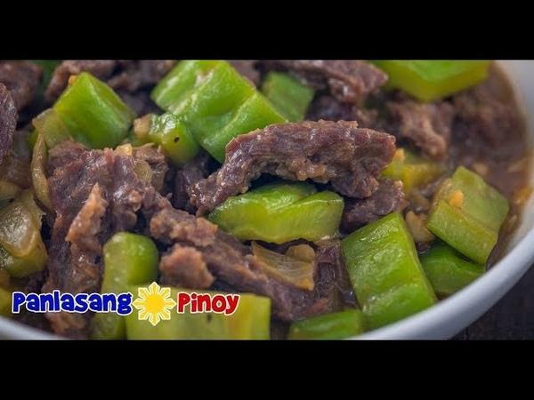 Ampalaya con Carne | Ampalaya with beef | Bitter Melon Recipe – Panlasang Pinoy