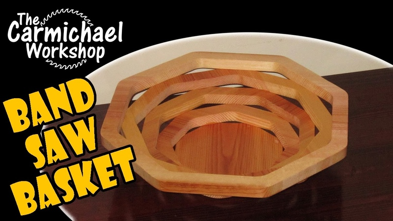 Create a Bandsaw Bowl or Basket out of Wood