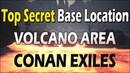 ⚡ Локация на вулкане для постройки секретной базы! ⚡