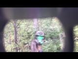 Пейнтбольный тест шлема