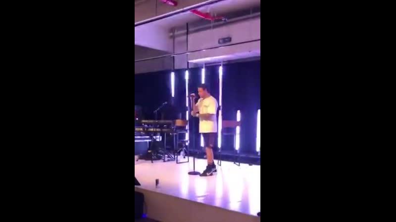 INFO @LiamPayne répétant DragMeDown via sa story Instagram. 21.05