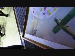 Картина для клуба и Дмитрий Викторович с песней
