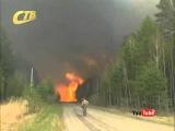 Курской области в связи с установлением особо жаркой погоды осложняется обстановка с пожарами
